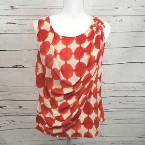 Maeve Anthropologie Silk blouse